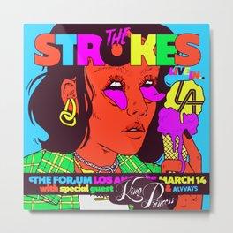 the strokes los angeles tour 2020 baukentut Metal Print