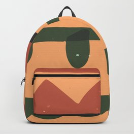 Abstract Tribal Style Modern Art Bold Graphic Design Background GC-117-9 Backpack