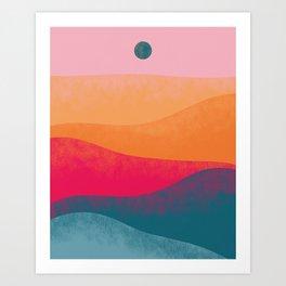 Sand Dunes #2 Art Print