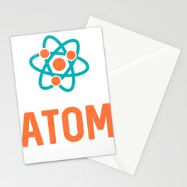 Funny Distressed Retro Vintage Organic Chemistry Stationery Cards