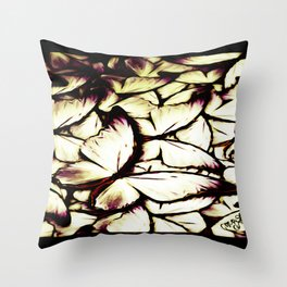 Insect Models: Beautiful Butterflies 03-05 Throw Pillow
