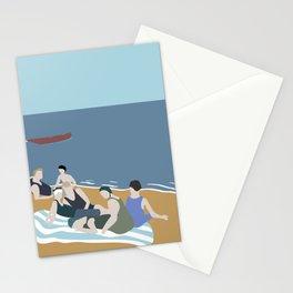 Vintage bathers Stationery Cards