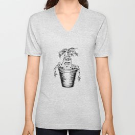 Potterhead Magical Mandrake Root Unisex V-Neck