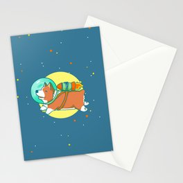Space Corg Stationery Cards