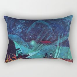Planet Observatory, Planetarium, Power of the People, Stars & Constellations by Konstantin Yuon Rectangular Pillow