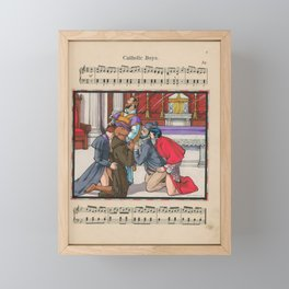 Catholic Boys Framed Mini Art Print