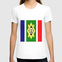 flag of Johannesburg T-shirt