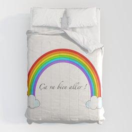 Arc-en-ciel ça va bien aller  Comforters