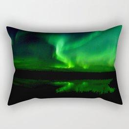 Northern Lights (Aurora Borealis) 16. Rectangular Pillow