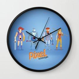 Thundercats - Pixel Nostalgia  Wall Clock