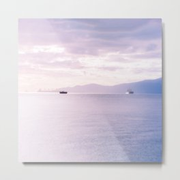 Oceanscape Vancouver  Metal Print