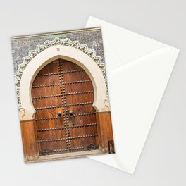 Doorway Number 30 - Fes, Morocco Stationery Cards