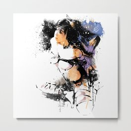 Shibari - Japanese BDSM Art Painting #7 Metal Print