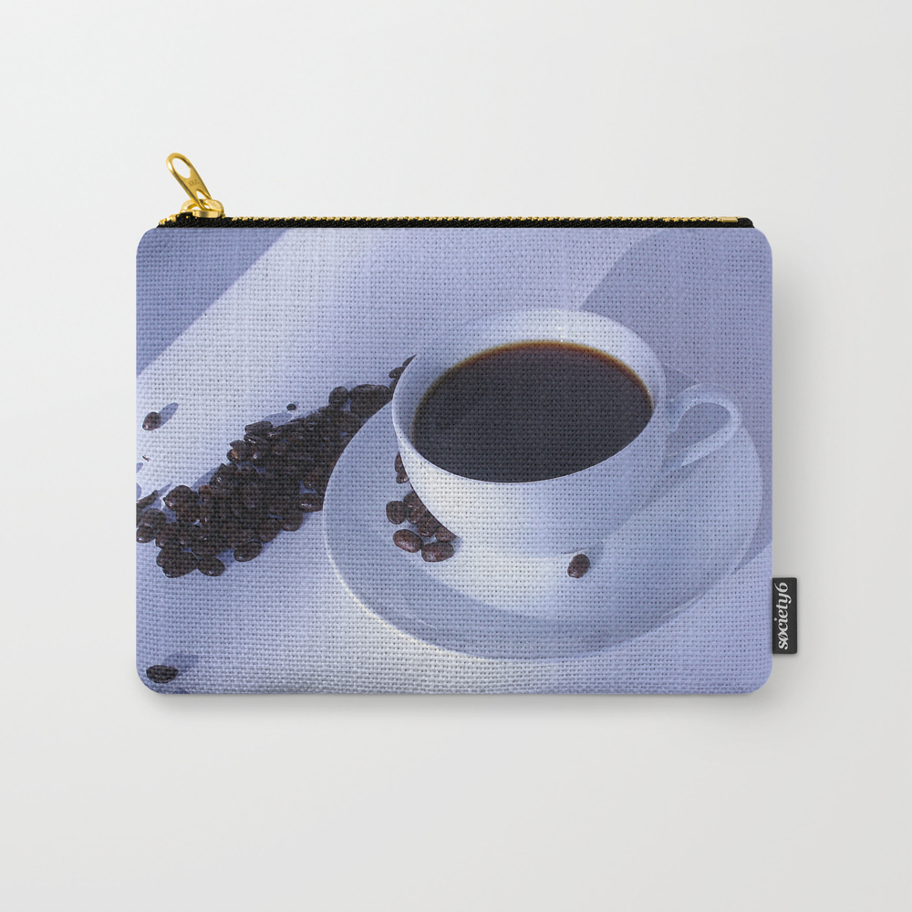 Cuppa Joe Carry-all Pouch by Wildrootsphotographyartwork CAP7570587