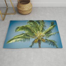 keanae hawaiian coconut palm tree Rug