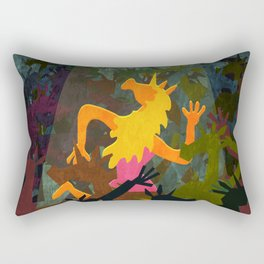 Unicorn Last Dance Rectangular Pillow