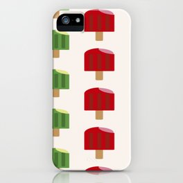 Popsicle Pattern Ice iPhone Case