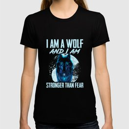 Wolf Of Fear Gift T-shirt