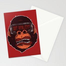 Gorilla Reality Stationery Cards