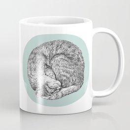 Curled Cat Coffee Mug