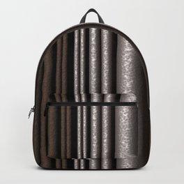 Hammered Metal/Rust Backpack