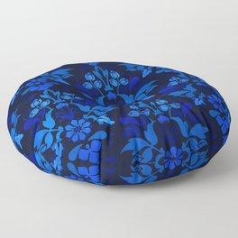 Oriental Damask Pattern Floor Pillow