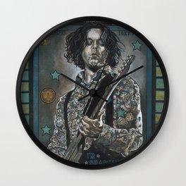 Jack White Wall Clock