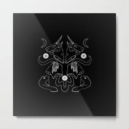 Slithering Séance Metal Print