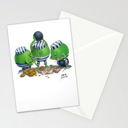 Pea Cons Stationery Cards