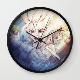 Dr Stone   Senku Ishigami Wall Clock