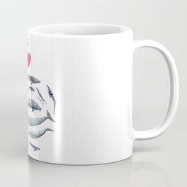 I love whales design Coffee Mug
