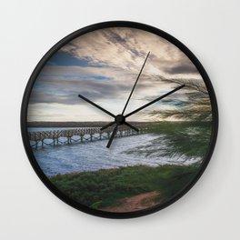 Ria Formosa - Quinta do Lago, Portugal Wall Clock