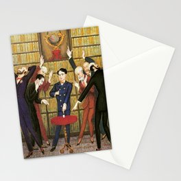 Columbus and the Egg Story; anyone can do anything with the right skill set portrait by Nils Dardel Stationery Cards