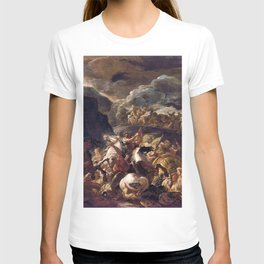 Luca Giordano - The Battle Of Israel And Amalek - Digital Remastered Edition T-shirt