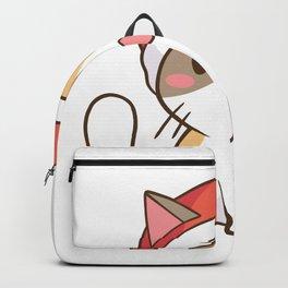 Santa Cat Backpack
