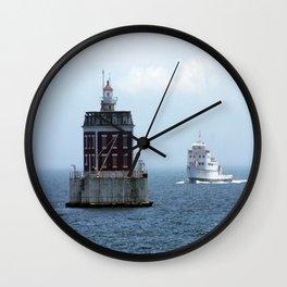 New London Ledge Lighthouse Wall Clock