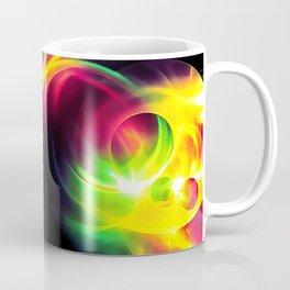abstract fractals mirrored reacstd Coffee Mug