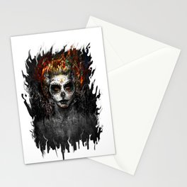 la muerte Stationery Cards