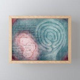 Trail of Blood, Trail of Tears Framed Mini Art Print