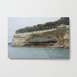 Painted Coves at Pictured Rocks National Lakeshore Metal Print