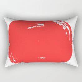 Red Point Rectangular Pillow
