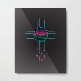 New Mexico Dream   Zia  Metal Print