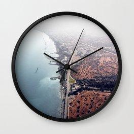 Limassol Coastline Wall Clock