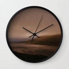 Faroese Lake Wall Clock