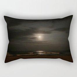 Full Moon Jersey Shore Rectangular Pillow