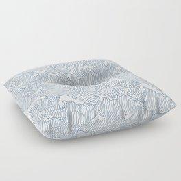 Japanese Wave Floor Pillow