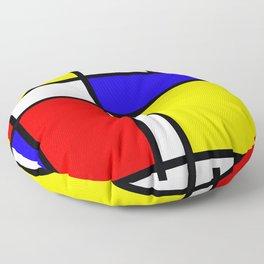 Mondrian 4 #art #mondrian #artprint Floor Pillow