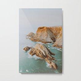 Summer Coast IV Metal Print