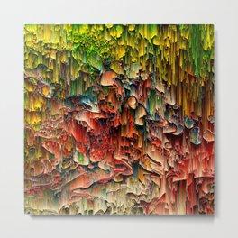 Intriguing - Pixel Art Metal Print