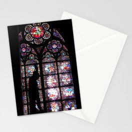 STAINED GLASS ALTAR - Notre Dame Stationery Cards